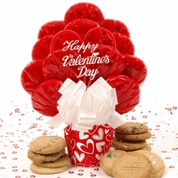 Valentine's Day Cookie Bouquet