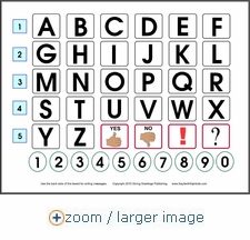 Alphabet Spelling Boards