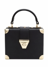 Back To Square One Faux Leather Bag