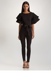 Ruffled Icon Tied Jumpsuit