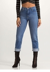 Just Say High-Waisted Boyfriend Jeans