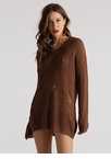 Snag This Distressed V-Neck Sweater