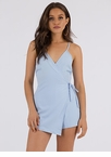 Keep Things Under Wraps Tied Romper