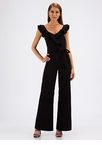 Can You Frill The Love Ruffled Jumpsuit