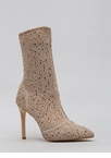 Gem-pire Pointy Jeweled Mesh Booties