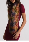 Furry Up Colorblock Scarf