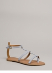 Modern Athena Strappy Caged Sandals