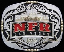 2011 National Finals Rodeo Buckle 3 by Montana Silversmiths