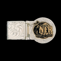 2013 WNFR Hinged Money Clip (NFRMCL113)