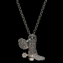 2014 WNFR Boot Charm Necklace (NFRNC02CZS)