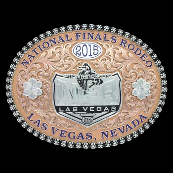 2015 WNFR Limited Edition Commemorative Buckle PREORDER (NFR615)