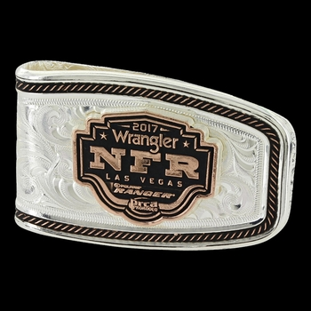 2017 WNFR Softly Roped Money Clip