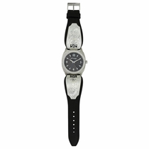 2017 WNFR Stroke of Midnight Leather Band Watch
