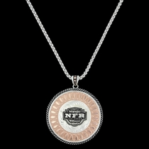 2017 WNFR Wide Open Prairie Concho Necklace