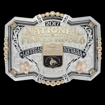 2017 Wrangler National Finals Rodeo Designer Limited Edition Buckle
