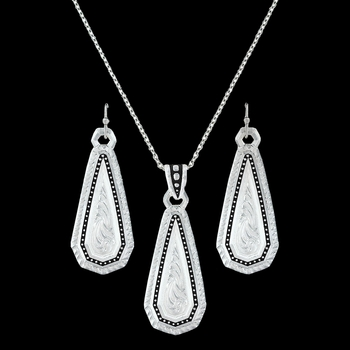 A Fine Stitched Shard Jewelry Set (JS3100)