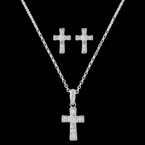 A Mark of Faith Cross Jewelry Set (JS3051)