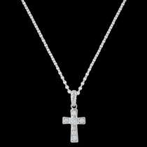 A Mark of Faith Cross Necklace (NC3051)