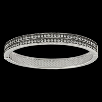 A Stroll at Midnight Hinged Bracelet (BC3436)