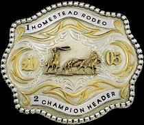 Antiqued Buckle 14912RT by Montana Silversmiths