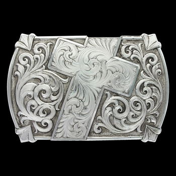 Antiqued Walk of Faith Buckle (30210RTS)