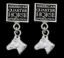 AQHA Earrings 1