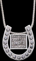 AQHA Horseshoe Necklace
