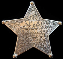 Arizona Rangers Captain Badge