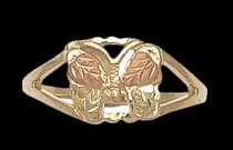 Black Hills Gold Butterfly Ring