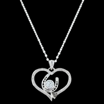 Blacksmith's Treasure Heart Necklace (NC3215)