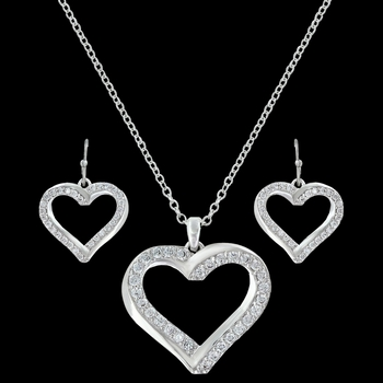 Bright Hearts Entwined Jewelry Set (JS3220)