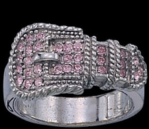 Buckle Ring by Montana Silversmiths
