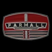Case IH Farmall Red Grill Attitude Buckle (A577PCIH)