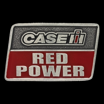 Case IH Red Power Attitude Buckle (A428CIHP)