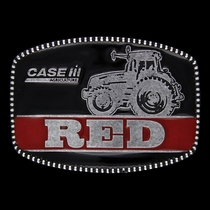 Case IH® RED Attitude Belt Buckle (A343CIH)