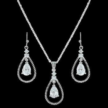 Catch the Rain Jewelry Set (JS3197)