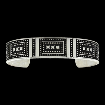 Coded Cuff Bracelet (BC3338)