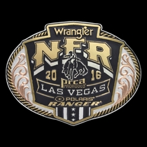 2016 WNFR Tri-Color Buckle  (NFR316)
