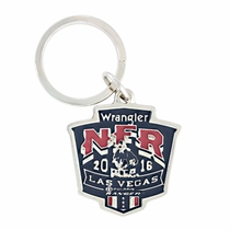 2016 WNFR Painted Shield Key Ring (NFRKR116)