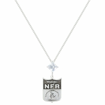 2016 WNFR Shield and Star Necklace (NFRNC116)
