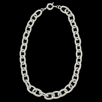 Convertible Link Necklace Attitude Jewelry (ANC3465)