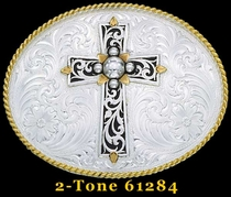 Cross Buckle by Montana Silversmiths