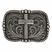 Cross Over Pinpoint Filigree Classic Attitude Buckle (A435)