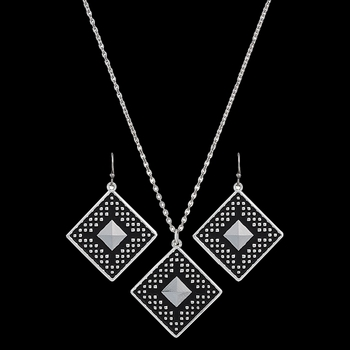 CrossCut Sky Diamond Jewelry Set (JS2628)