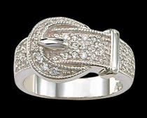 Crystal Ring by Montana Silversmiths