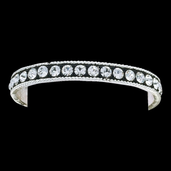 Crystal Shine Bangle Bracelet (BC1032)