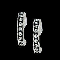 Crystal Shine Cuff Earrings (ER1132)
