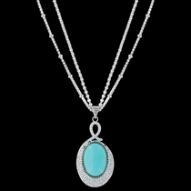 Curling Path Necklace (NC3265)