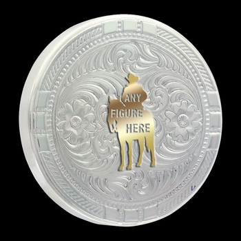 Custom New Traditions Four Directions Snuff Lid (LID6)