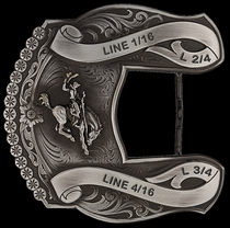 Custom Trophy Belt Buckle 11014MA